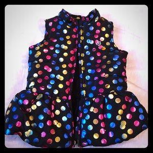 Girls Colorful Vest